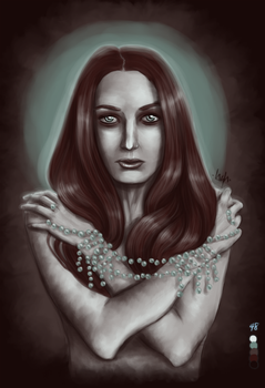 Grieving Mother by Bazylia-de-Grean