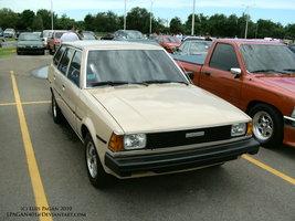 1982 Toyota Corolla Wagon by Mister-Lou