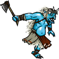 Ice Troll by WhoDrewThis