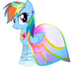 Rainbow Dash - Summer Dress by KibbieTheGreat