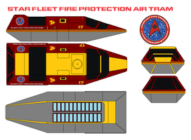 Star Fleet Fire Protection air tram by bagera3005