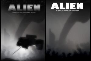 ALIEN posters by RoguePL