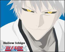 Hollow Ichigo Wallpaper by LCrook