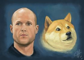 Josh Wise and Doge by hammn