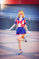 Sailor V  pretty by LoveSenshi