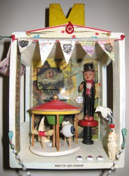 Merry Go Round Assemblage by bugatha1