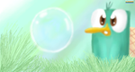 Perry and a bubble by Leibi97