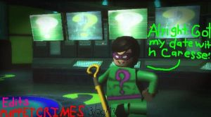 Lego Batman The Riddlers Date by PuppetCrimes