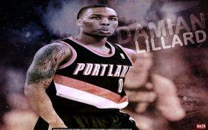Damian Lillard by pllay1