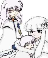 Hakudoushi+Akago+Kanna:Colored by jussaldra