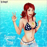 Summer Time Rachel Anderson OC by Timagirl