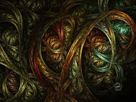 Ribbons En Masse by Fractoid