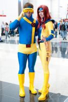 Jean Grey and Cyclops by screaM4Dolls