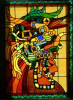 Mayan Stained glass by HouseofChabrier