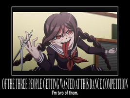 There should be more Danganronpa demotiv posters by BattlePyramid
