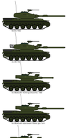 Evolution of the M-61 Main Battle Tank by gool5000