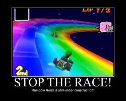 How Rainbow Road was made by PantaroParatroopa