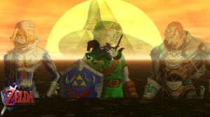 Ocarina of Time by HeroofTime123