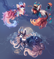 [Guest Auction!] Designs by crowlets [Over!] by manaberry