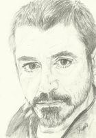 Robert Downey Jr- sketch by SheenaBeresford