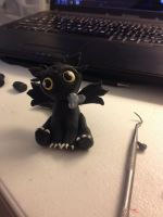 Toothless by ADarkWhimsy