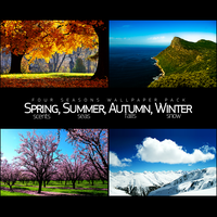 Four Seasons Wallpaper Pack by salmanarif