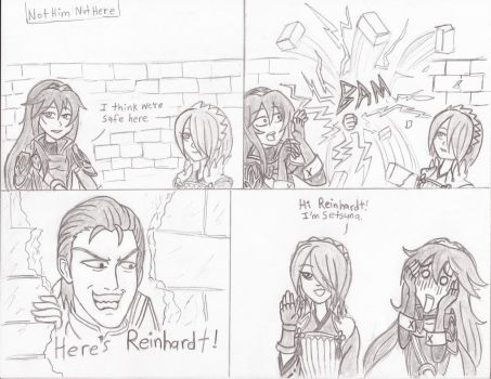 [FEH 4Koma] #32: Not Him Not Here by Willanator93