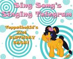 Sing Song's Singing Telegram - TEPPATHEKID'S BIRTH by Teppa
