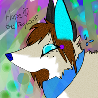 .:Hope the WolfFox:. by Arctic-Wolf101
