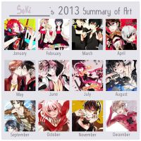 Summary art 2013 by Sukihi