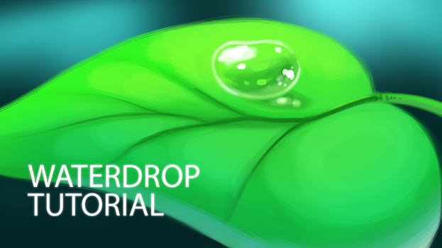 How to Digitally Paint a Waterdrop by TsaoShin