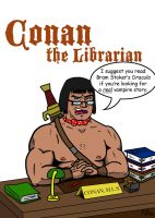 Conan: The Librarian by cat-gray-and-me78