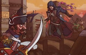 Assassin's Creed Unity by SentientSpore