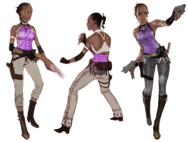 Sheva Alomar-RE5 Concepts PNG by Isobel-Theroux