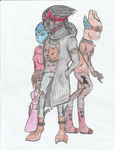 Courtney Rebeleon With Adoptive Family by Mighty-C-amurai