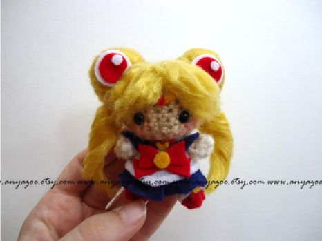 Sailor Moon Amigurumi by AnyaZoe