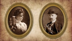 Steampunk Portraits by JohnMon