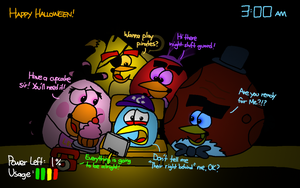 Five Nights at Terence's by AngryBirdsStuff