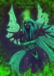 Queen Chrysalis want to love you by RHEMORA