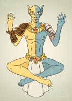 Lord Vivec by Nata-eslava