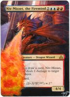 MTG Card Alter -  Niv-Mizzet, the Firemind by InVenatrix