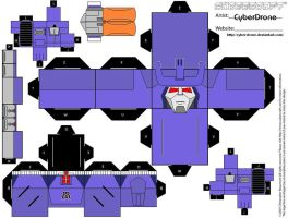 Cubee - Galvatron by CyberDrone