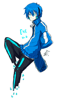Ene-chan3 version hombre by ROYHACK