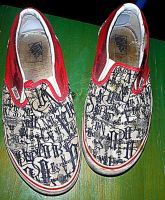 Old Vans 1966 30yr anniversary 1996 slip-ons by Markemarksk8