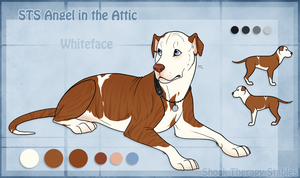 STS Dog - Whiteface by ShockTherapyStables