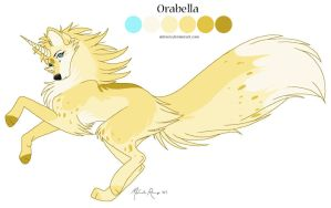 Orabella Reference Sheet by mirzers