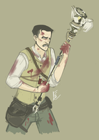 Semi-Young Richtofen by Flockles