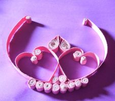 Quilled Tiara by crochetamommy