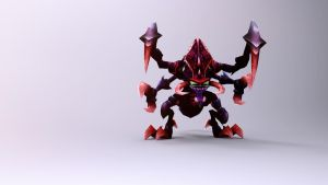 Cho'Gath by Binary-Map