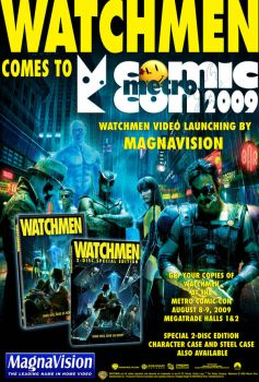Watchmen Comes to MCC by maxcsilver